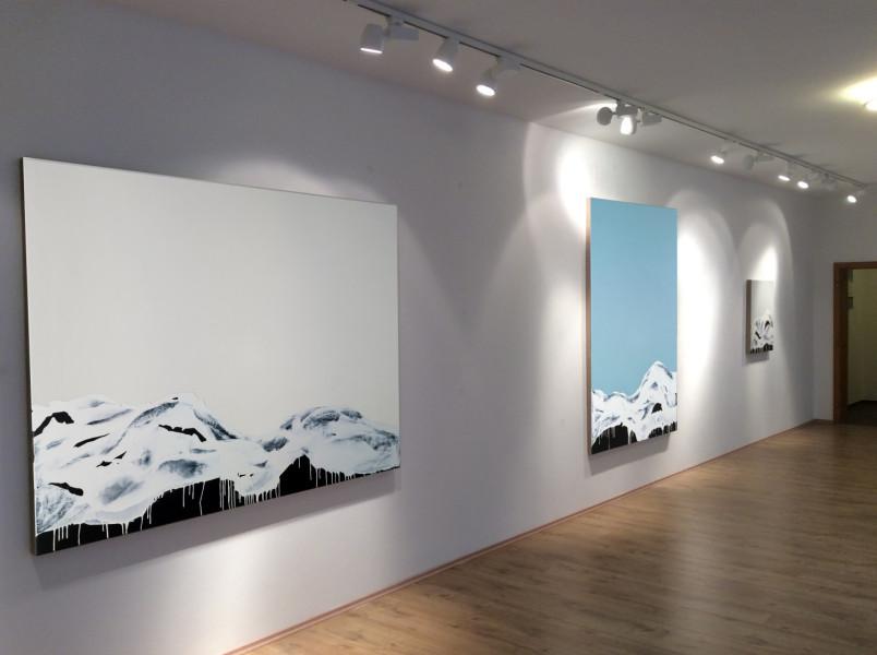 Die weißen Berge, Galerie Trapp